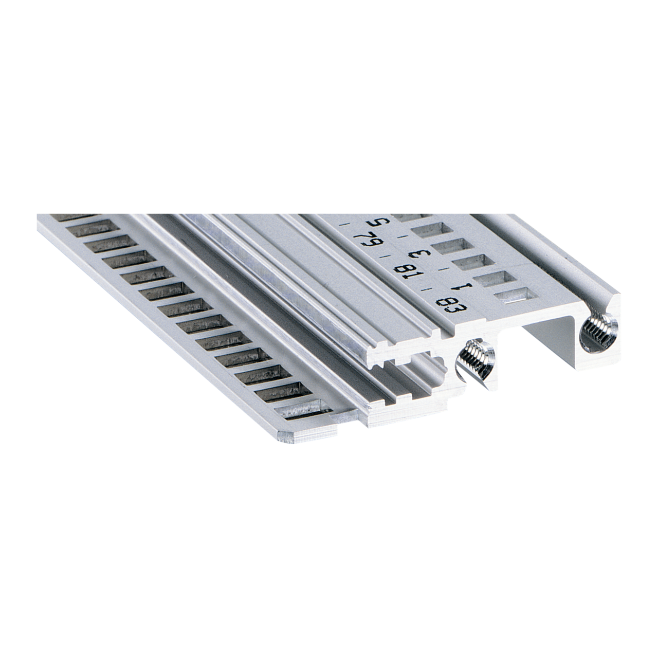 Imagen para Horizontal rail, front, type H-KD robust, long lip de Schroff - Norteamérica