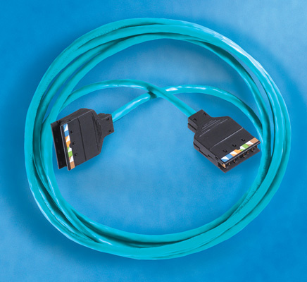 Clarity 6 110/110 Patch Cord, Category 6, 7', OR-110C607-06