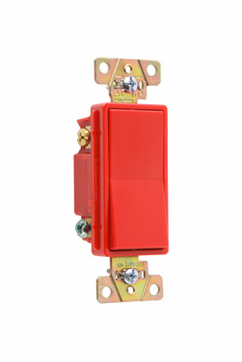 Specification Grade Decorator Switch, 2623RED