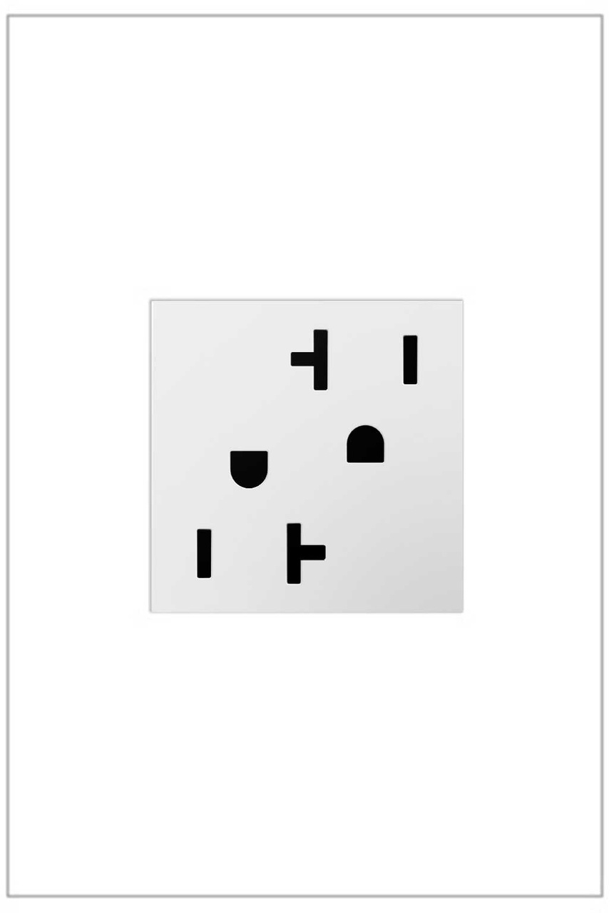 Outlet, 20A, White