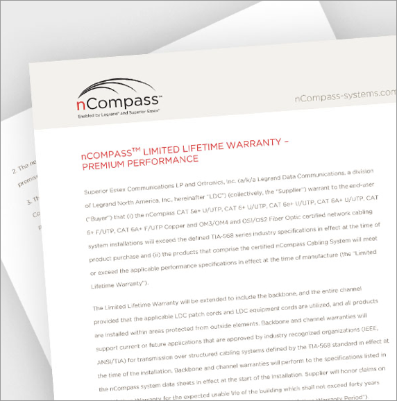 nCompass Limited Lifetime Warranty