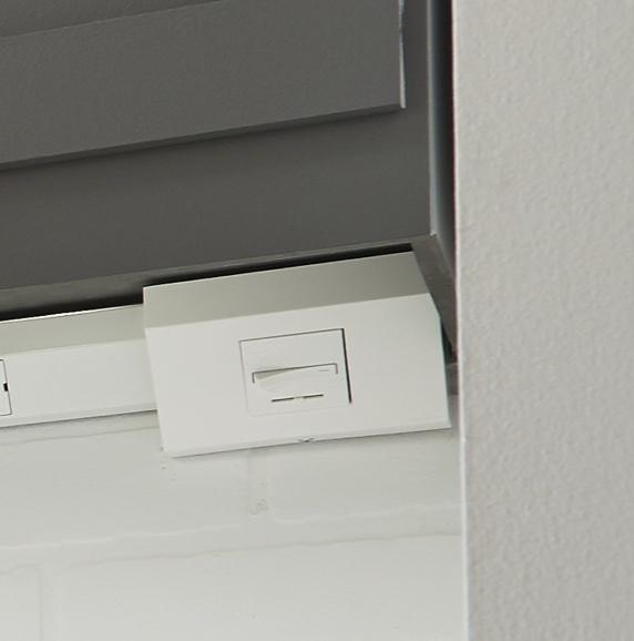 white adorne whisper switch under cabinet lighting