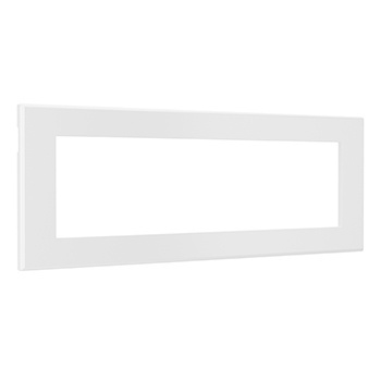 Furniture Power Replacement Bezel for Switching Power Unit-White