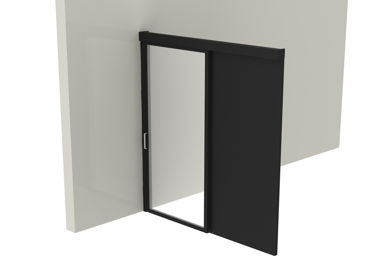 Containment Cab Wall Right Sliding Door