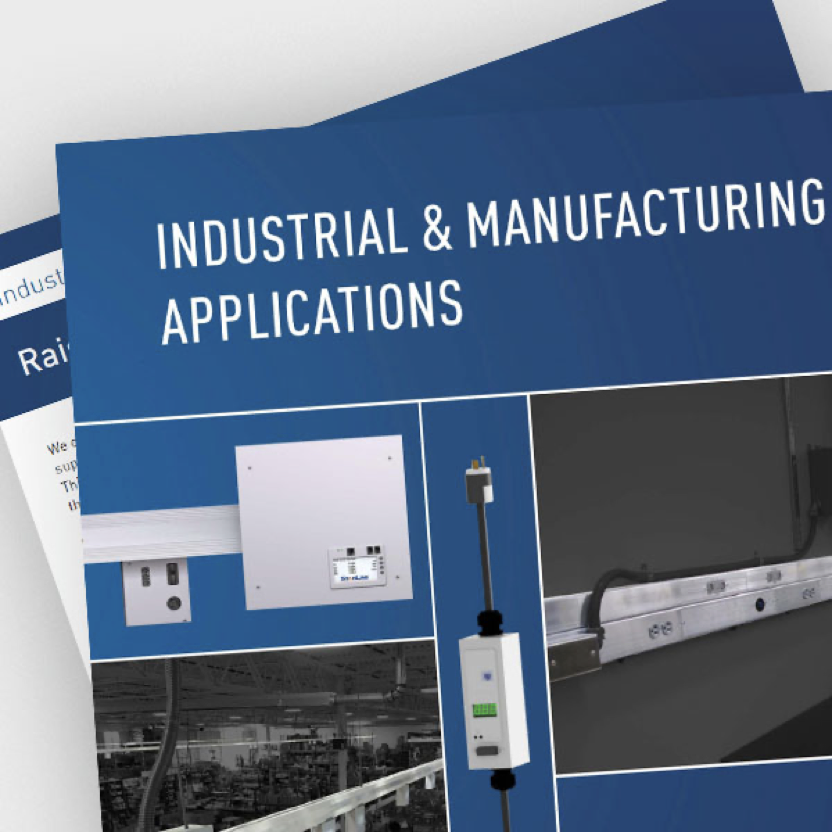 Screen shot of T5 series Industrial & Manufacturing Applications brochure