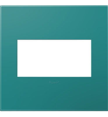adorne 2-Gang Turquoise Wall Plate