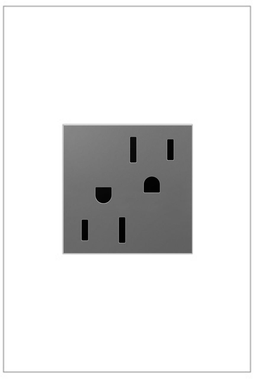 Outlet, 15A, Magnesium