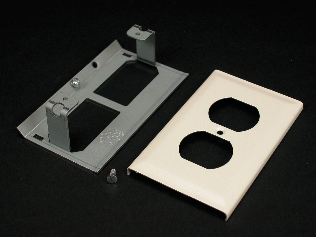 3000 Duplex Receptacle Cover Fitting, 3043BE | Legrand