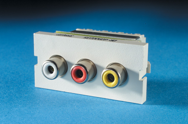 Series II, 3-Phono Jacks/ RCA (110 IDC), OR-60900235