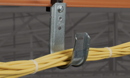 j-hook cable hanger