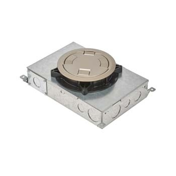 Rfb2e Two Compartment Recessed Floor Box Rfb2e Legrand