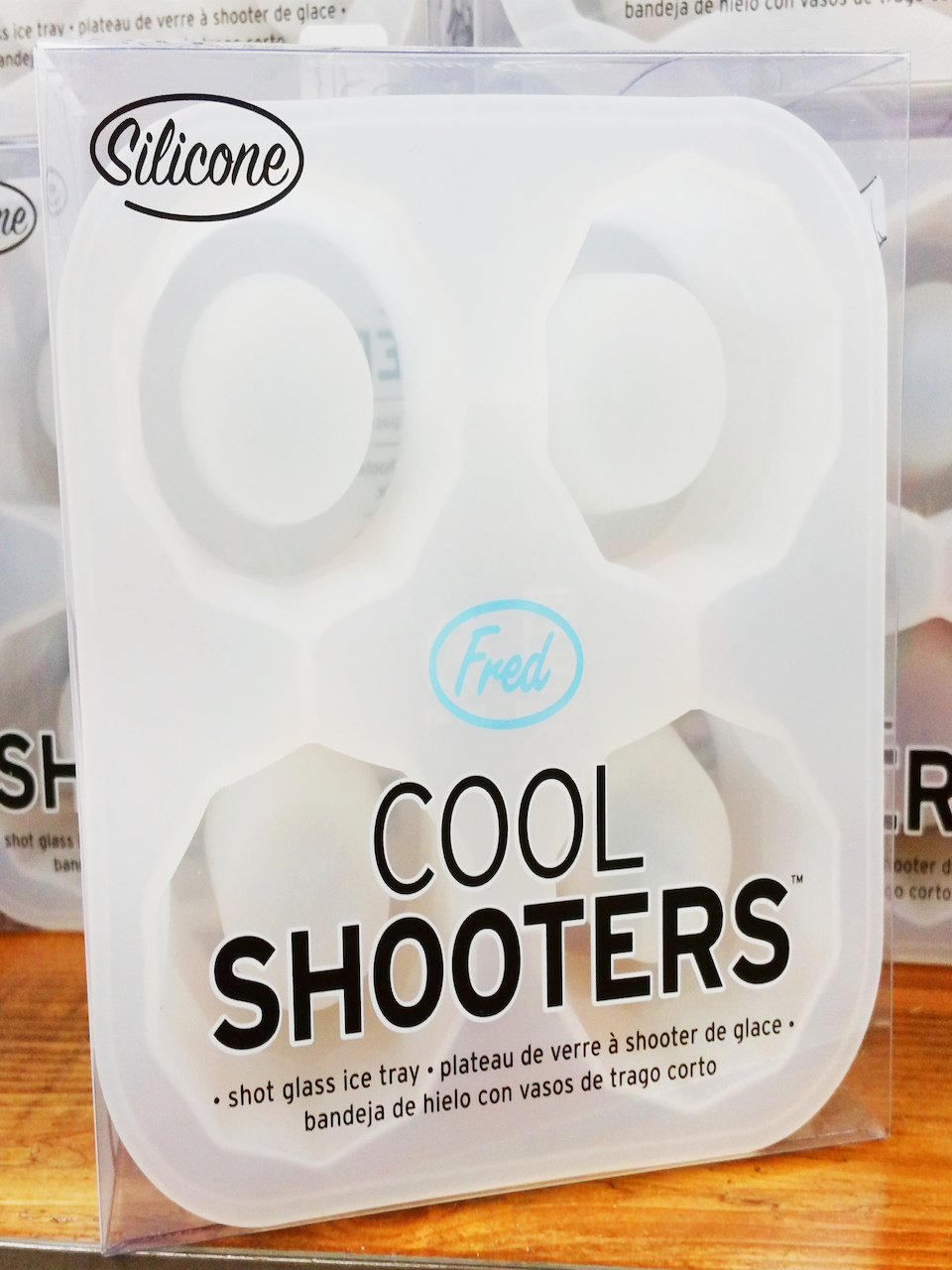 Ice shot-glass molds, $12, at Dirty Hippie