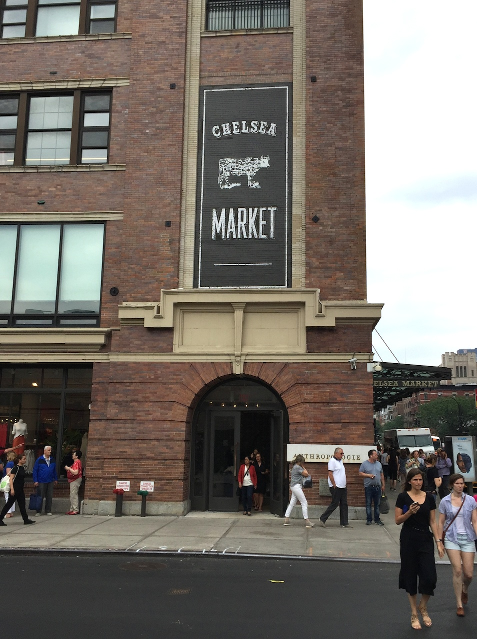 Chelsea Market offers blocks of indoor shops and restaurants to explore in an old factory. Trivia for Atlantans: the developer also did Ponce City Market.