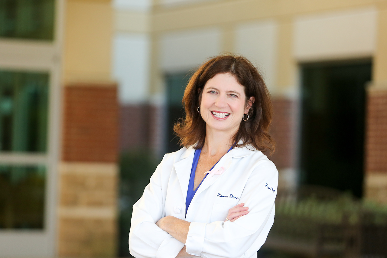 Dr. Laura Born, family practice physician at TriStar Medical Group and today's FACE of TriStar