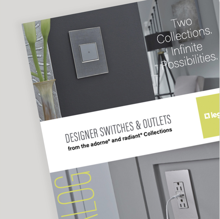 designer switches and outlets brochure