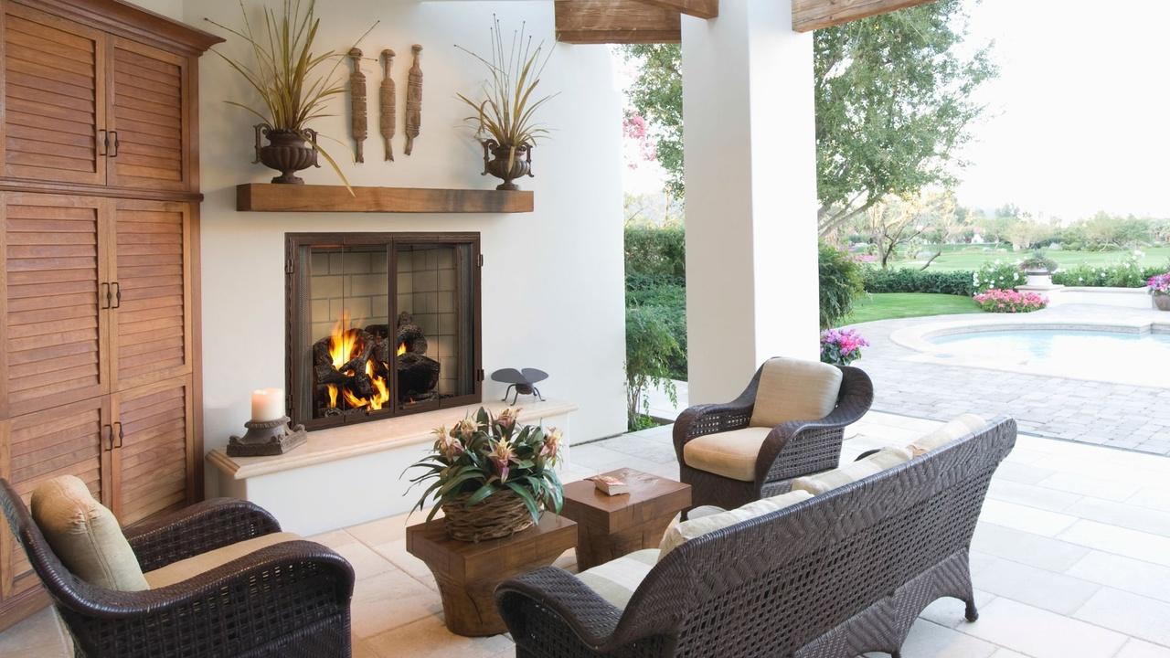 Castlewood Outdoor Wood Fireplace | Heat & Glo