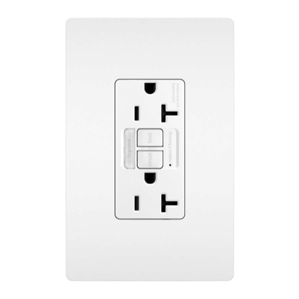 gfci outlet with night light