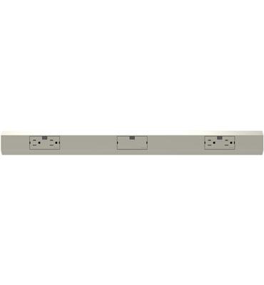 27quot modular track titanium cabinet lighting flip book