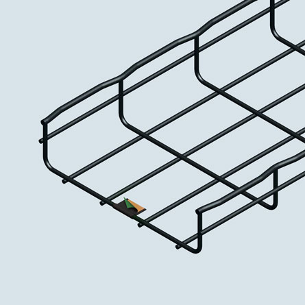 UL Classified Painted Wire Cable Tray,