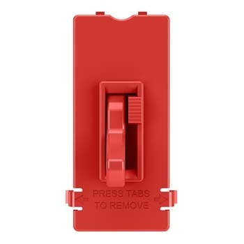 Toggle Slide Dimmer Interchangeable Color Change Kit, Red