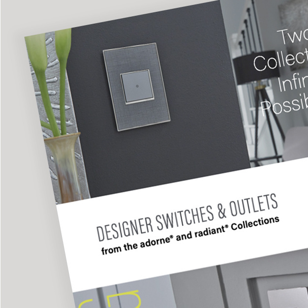 cover of designer switches and outlets catalog
