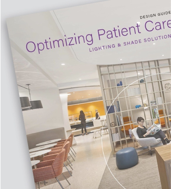 Screen grab of brochure showing how Legrand can assist with optimizing patient care.