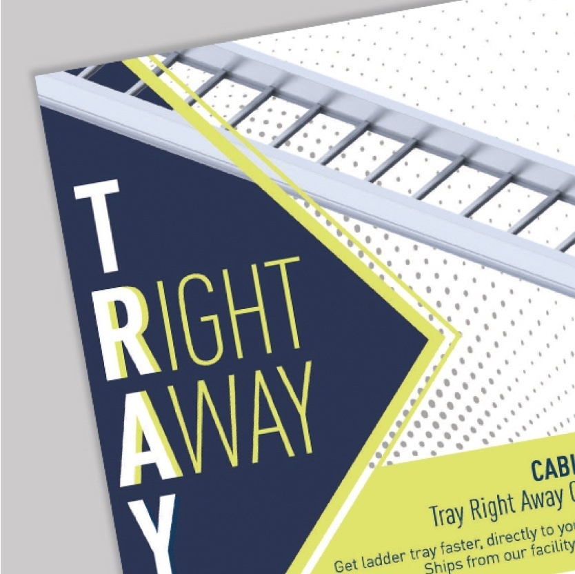 Tray Right Away brochure cover