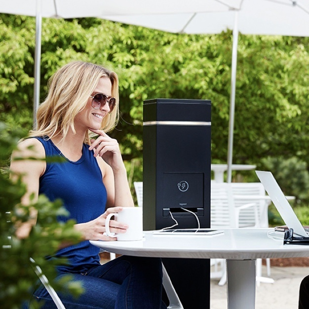 outdoor areas - outdoor charging station