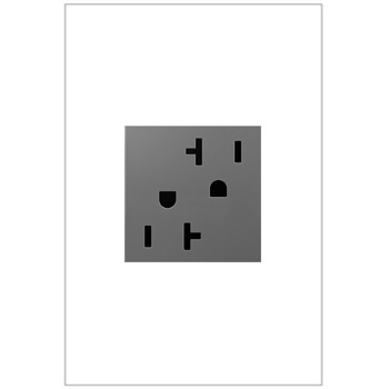 Outlet, 20A, Magnesium