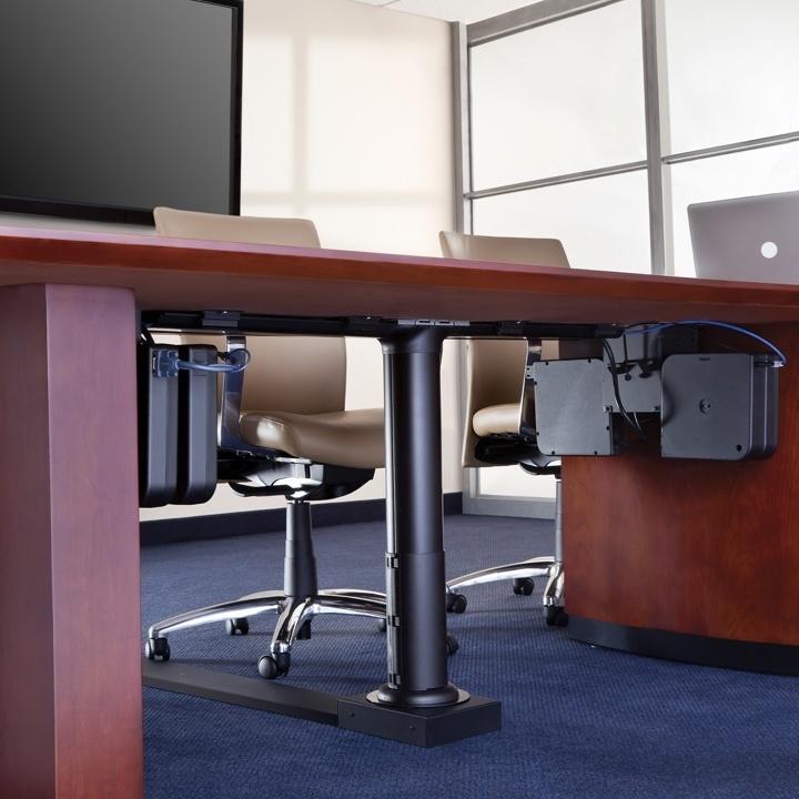 Cable Management under a desk