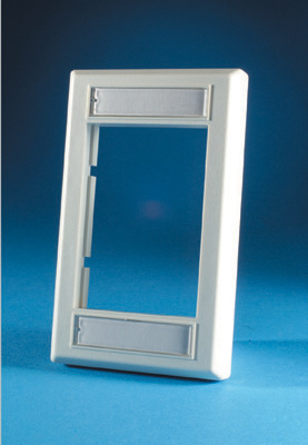 "Series II Faceplate, low profile (single gang), .5"" deep, OR-40300158"