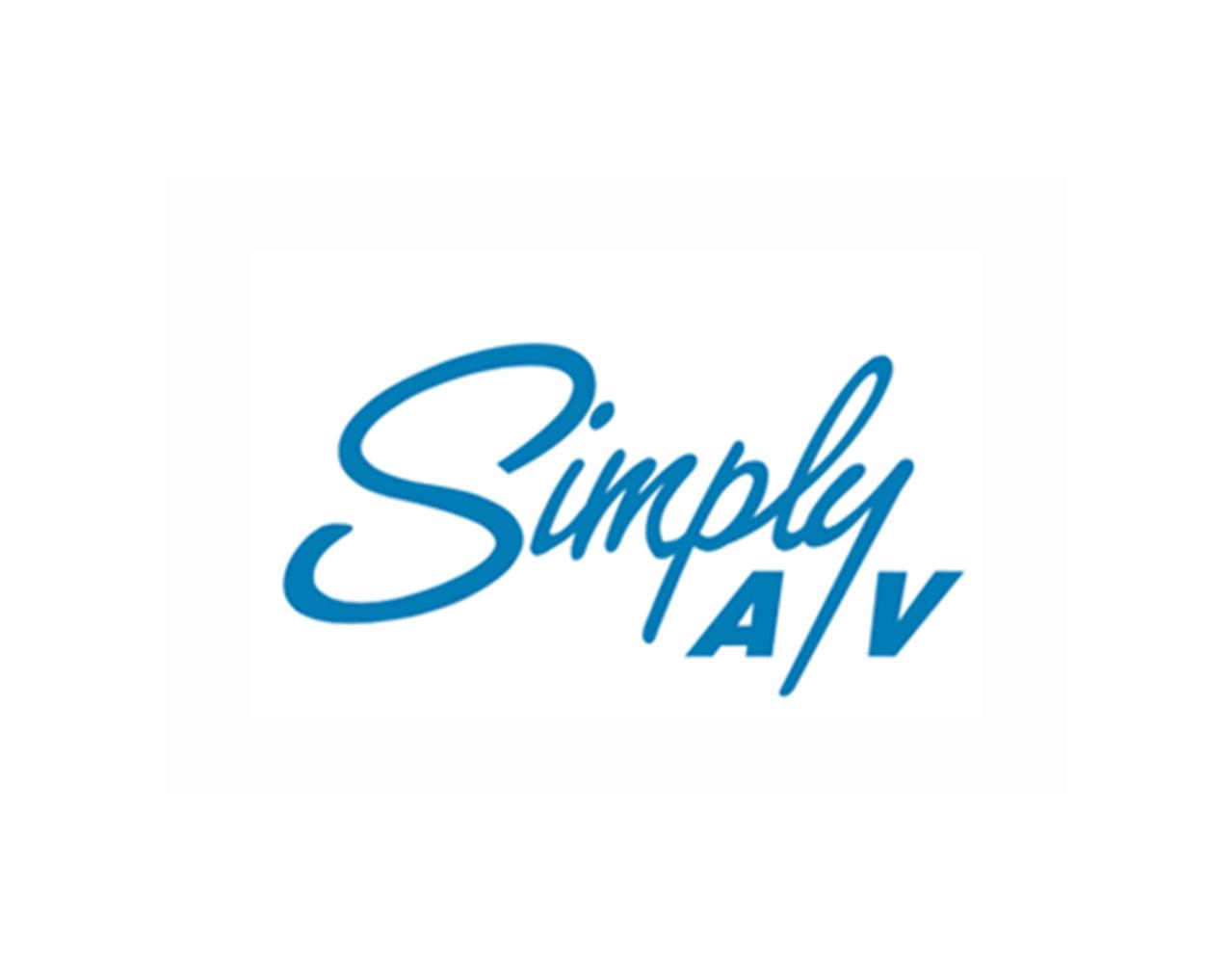Simply A/V logo