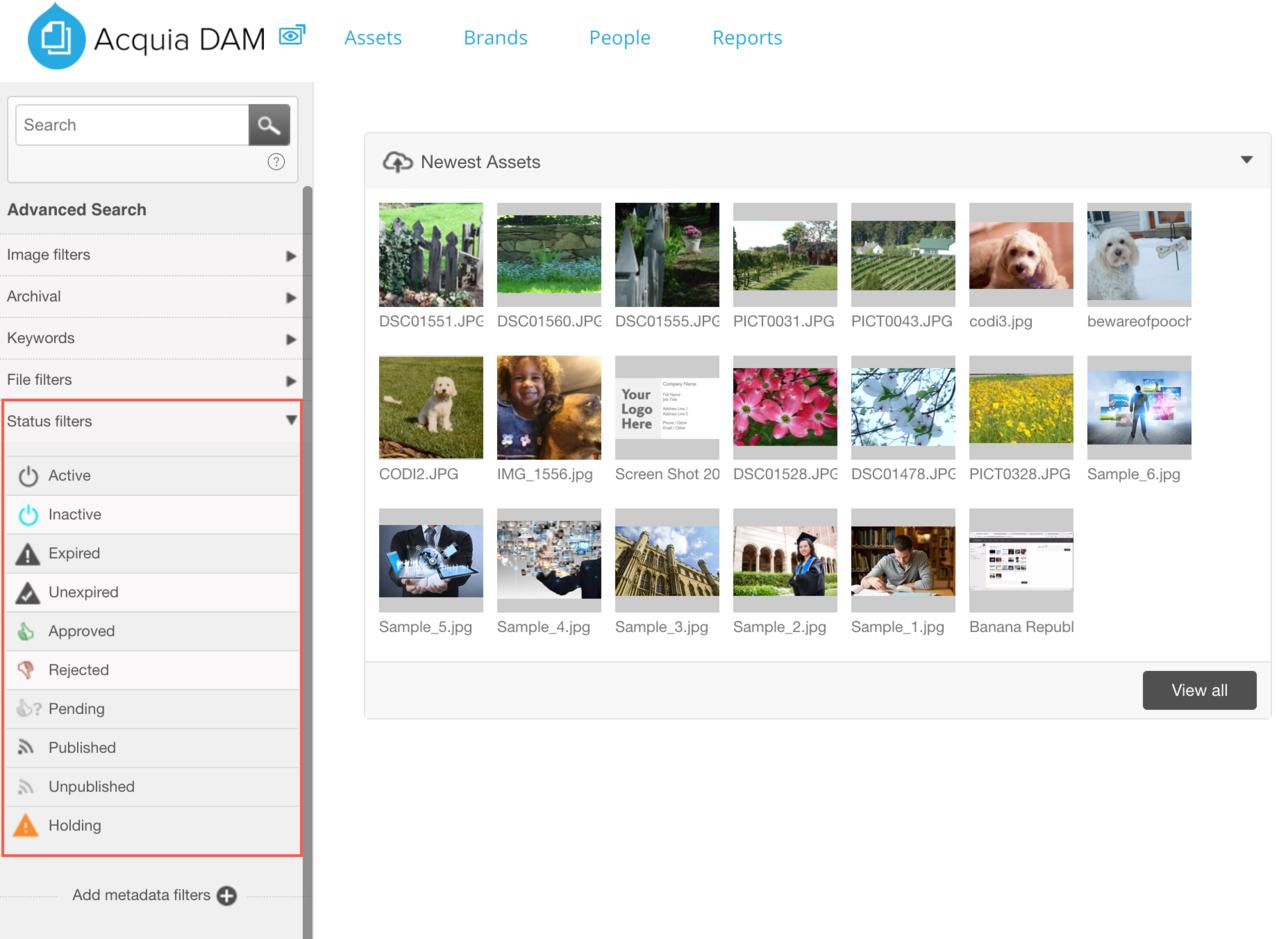 Dam_Status filters