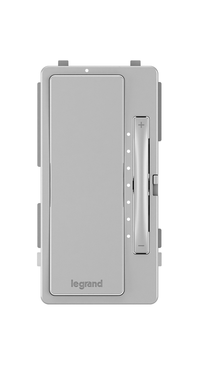 Interchangeable Face Cover for Multi-Location Master Dimmer, Gray