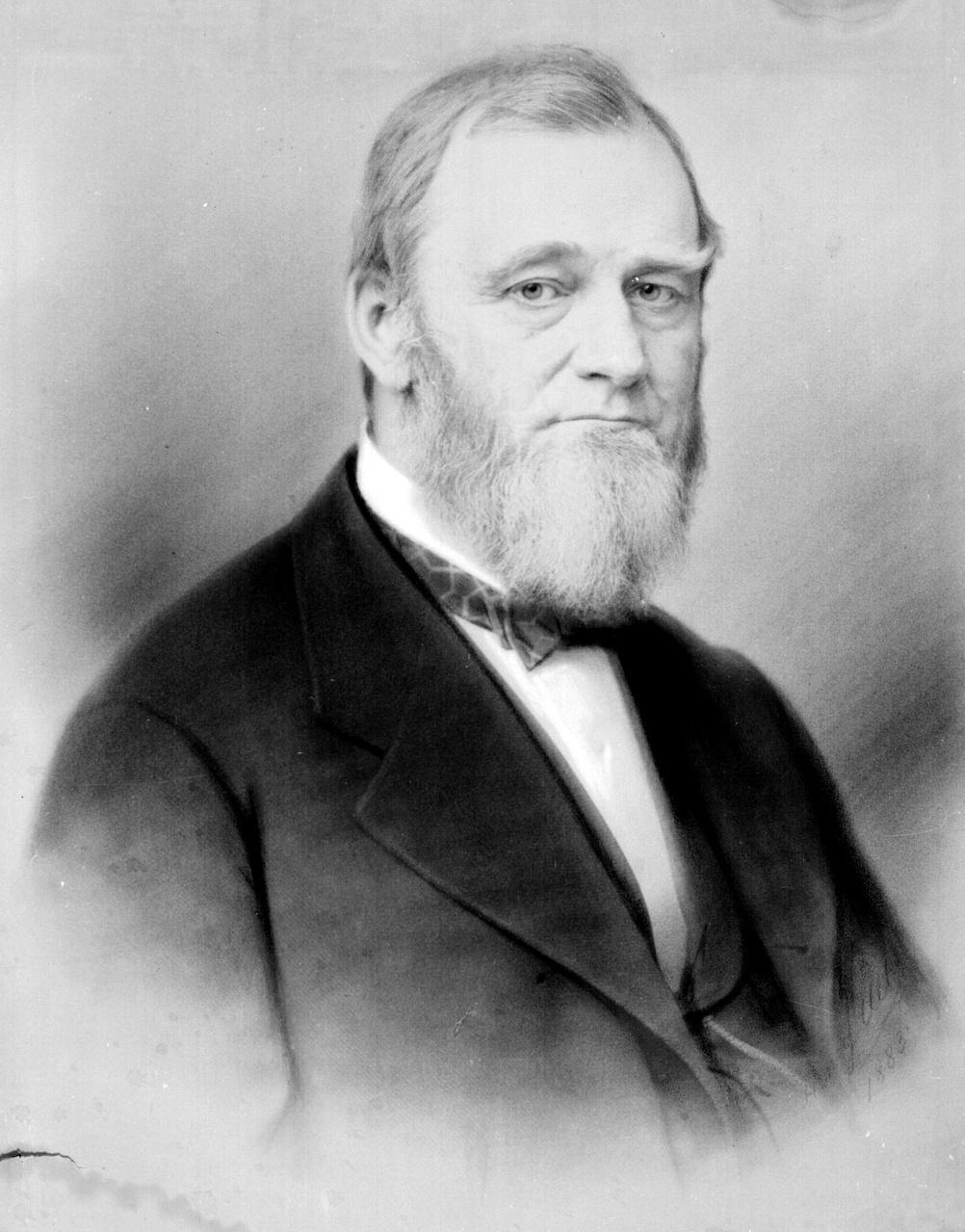 Portrait of Spencer Baird