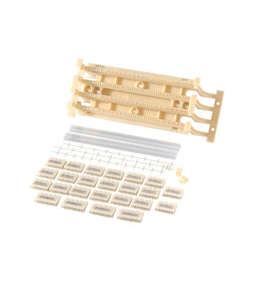 100-pair 110 Field Termination Block Kit with 110C4s, OR-30203506