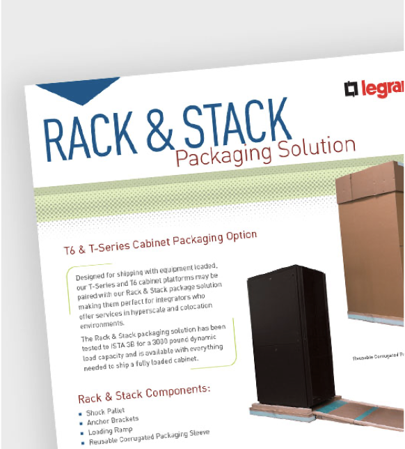 Rack and Stack Packaging Solution
