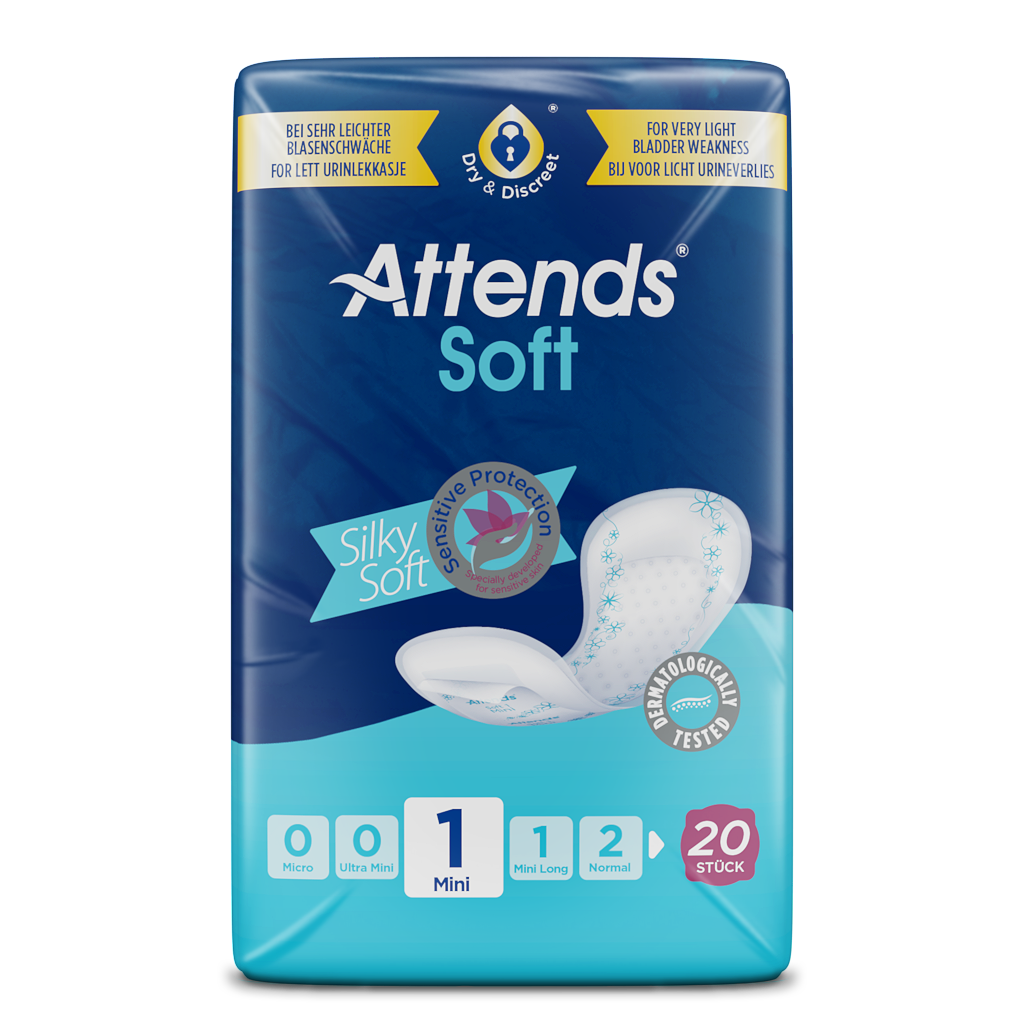 Attends Soft 1 Mini Hygiene Einlagen