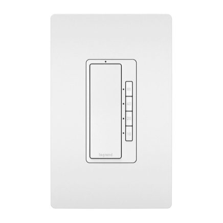 timer in screwless wall plate