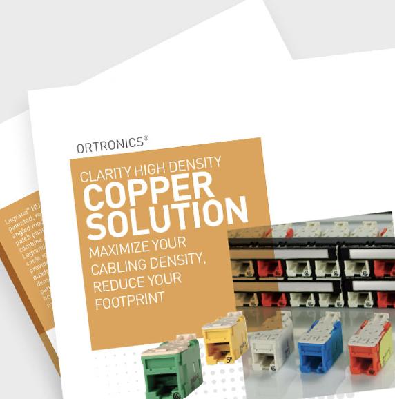 High Density Copper Solution Brochure