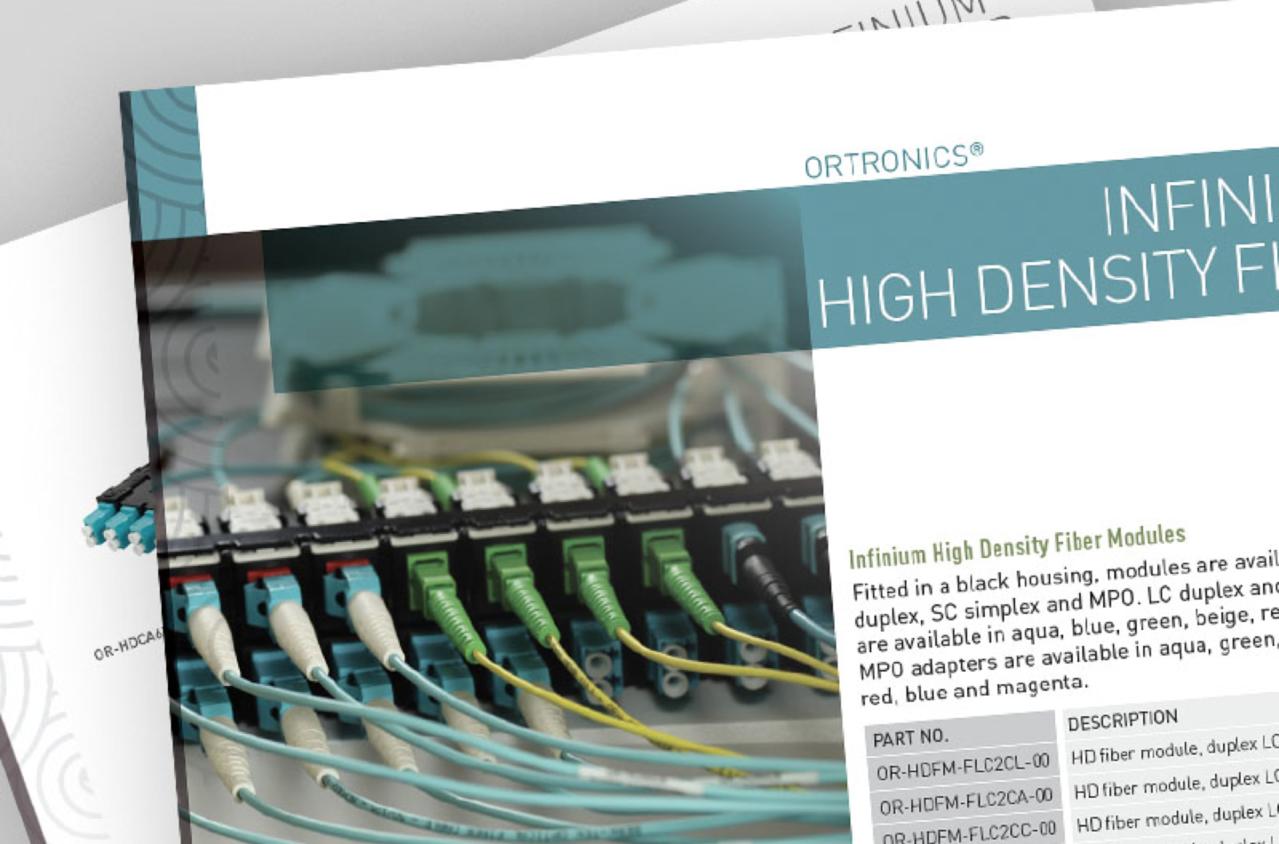 Modular HD Fiber Data Sheet