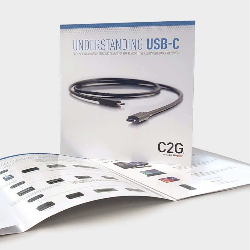 USB-C brochure image