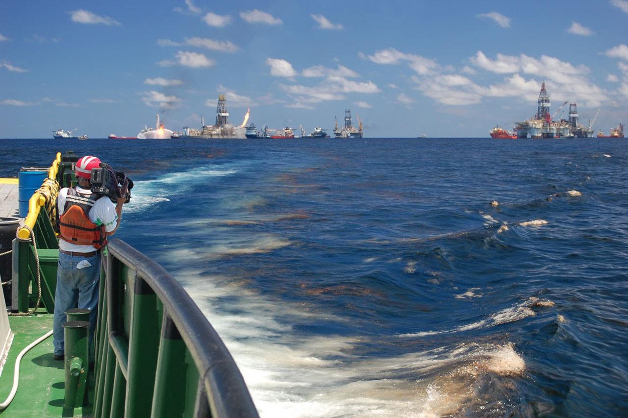 Deepwater Horizon videographer