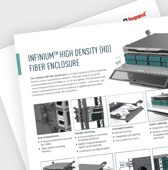 The Infinium High Density Fiber Enclosure