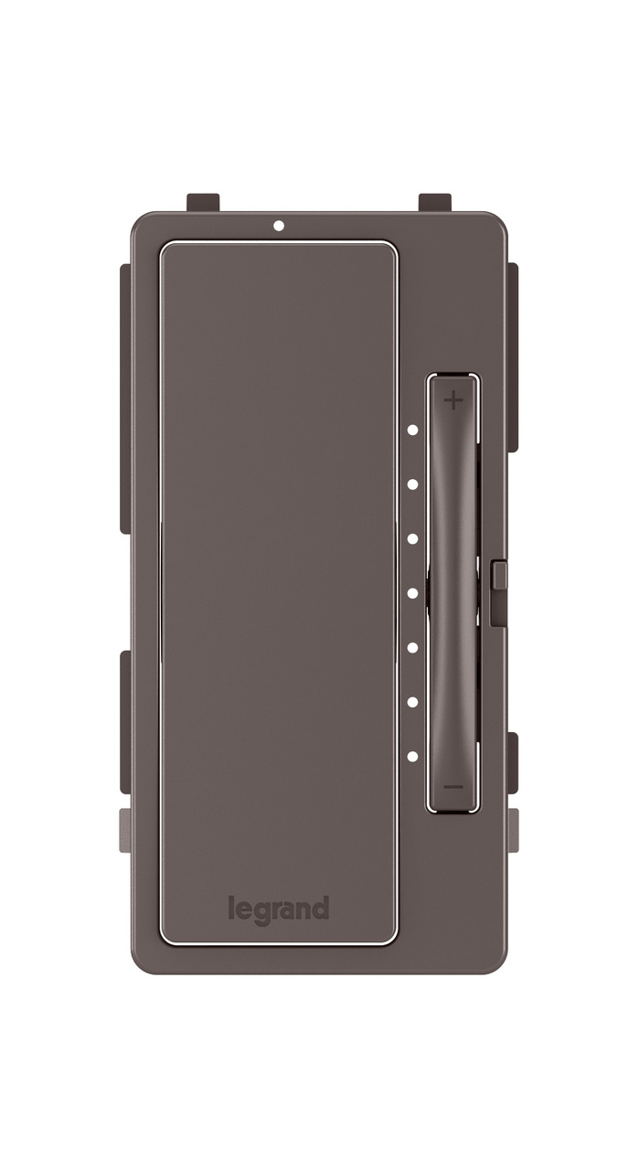 Interchangeable Face Cover for Multi-Location Master Dimmer, Brown