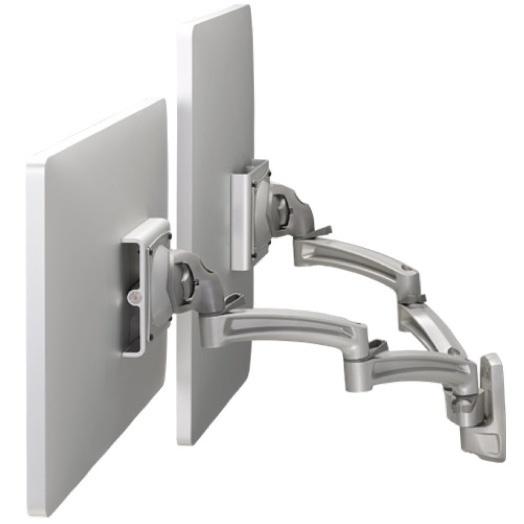 Ergonomic arms for computer monitors