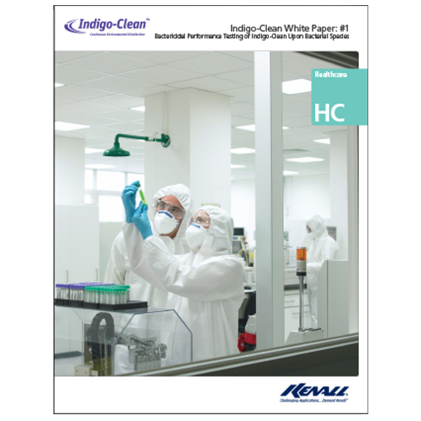 Bactericidal Performance Testing of Indigo-Clean Upon Bacterial Species White Paper