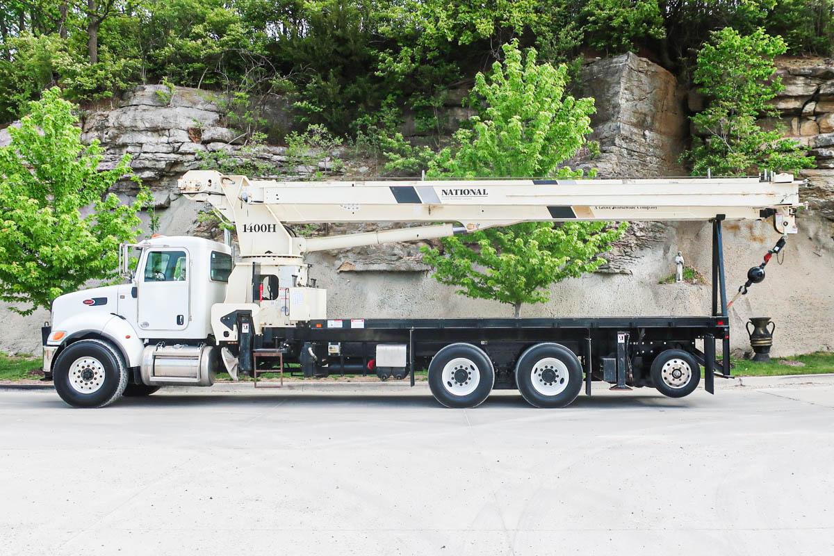 2019 Peterbilt 348 6x4 National NC14127H Boom Truck