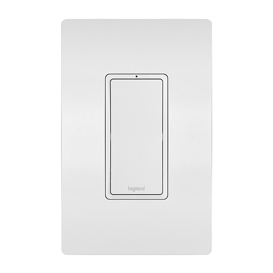 In-Wall Remote RF Switch, White