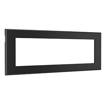 Furniture Power Replacement Bezel for Switching Power Unit- Black
